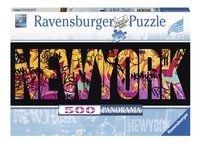 Ravensburger puzzle panorama New-York Graffiti