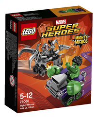 LEGO Super Heroes 76066 Mighty Micros: Hulk vs. Ultron-Avant