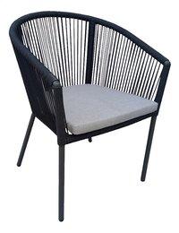Chaise de jardin Reims anthracite