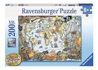 Ravensburger XXL puzzel Piratenkaart