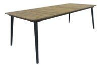 Cette table de jardin rectangulaire Reims (180 x 90 cm) s'adaptera parfaitement sur votre terrasse ou dans votre jardin. Idéal pour profiter d'agréables moments dehors en famille ou entre amis.