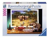 Ravensburger puzzle Visiteurs venus d'Afrique-Avant