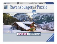 Ravensburger Panoramapuzzel Winterlandschap
