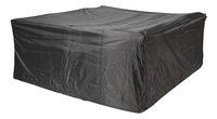 AeroCover Housse de protection pour ensemble lounge polyester L 255 x Lg 255 x H 70 cm-Avant