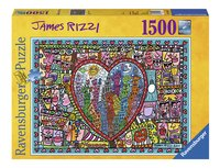 Ravensburger puzzle James Rizzi All that love