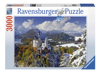 Ravensburger puzzel Slot Neuschwanstein in de winter