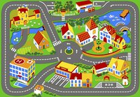 Tapis de circulation Quiet Town 95 x 133 cm