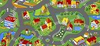 Verkeerstapijt Little Village 95 x 200 cm