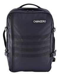 CabinZero reistas Military Absolute Black 52 cm-Vooraanzicht