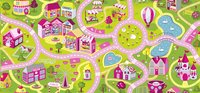 Tapis de circulation Sweet Town 95 x 200 cm