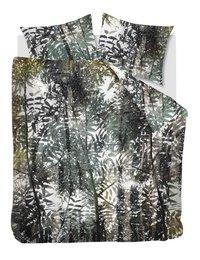 Ambiante Dekbedovertrek Jayda green katoen 240 x 220 cm-Vooraanzicht