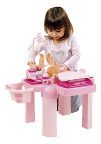 Écoiffier table de soins pour poupées Nursery 22 pièces-Image 1