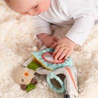 Fehn jouet à suspendre - livre en tissu Loopy & Lotta-Image 3