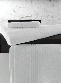 De Witte Lietaer Gant de toilette Othello blanc Lg 15 x L 21 cm - 6 pièces-Image 1