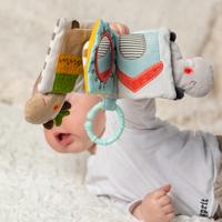 Fehn jouet à suspendre - livre en tissu Loopy & Lotta-Image 4