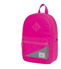 Herschel sac à dos Heritage Kids Neon Pink Reflective/Silver-Côté droit