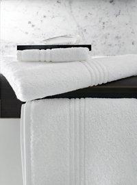 De Witte Lietaer Serviette Othello blanc Lg 50 x L 100 cm - 3 pièces-Image 1