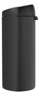 Brabantia Afvalemmer Touch Bin antraciet 30 l-Rechterzijde