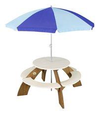 AXI kinderpicknicktafel Orion met parasol-Vooraanzicht