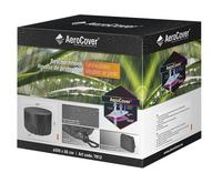 AeroCover Beschermhoes voor tuinset rond polyester 200 x 85 cm-Vooraanzicht