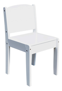 Chaise Rémi blanc