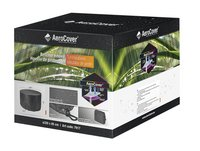 AeroCover Beschermhoes voor tuinset rond polyester 320 x 85 cm-Vooraanzicht