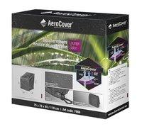 AeroCover Housse de protection pour fauteuil de jardin lounge polyester L 75 x Lg 78 x H 110 cm-Avant