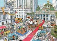 Ravensburger puzzle Fleroux Rio de Janeiro-Avant