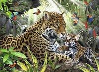 Ravensburger puzzle Jaguar et son petit-Avant