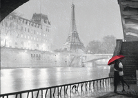 Ravensburger puzzel Paris-Vooraanzicht