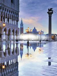 Ravensburger puzzel Romantisch Venetië-Vooraanzicht