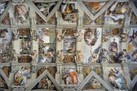 Ravensburger puzzel De Sixtijnse kapel-Vooraanzicht