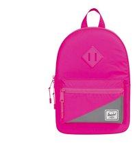 a75b562d124 Herschel rugzak Heritage Kids Neon Pink Reflective/Silver