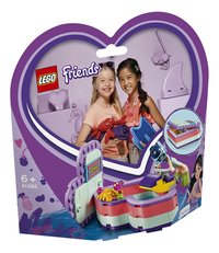 LEGO Friends 41385 La boîte cœur d'été d'Emma-Côté gauche