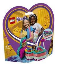 LEGO Friends 41384 La boîte cœur d'été d'Andréa-Côté gauche