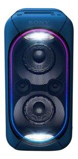 Sony bluetooth luidspreker GTK-XB60 blauw-Vooraanzicht
