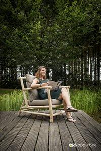 Apple Bee fauteuil de jardin Lounge Rooty-Image 1