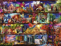 Ravensburger puzzle Le monde des livres-Avant