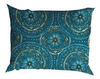 Romanette Drap de lit Libby turquoise flanelle 180 x 290 cm-Détail de l'article