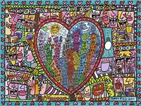 Ravensburger puzzel James Rizzi All that love-Vooraanzicht