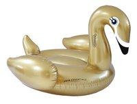 Swim Essentials luchtmatras voor 1 persoon gouden zwaan-Vooraanzicht