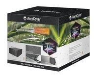 AeroCover Housse de protection pour ensemble de jardin rectangulaire polyester L 305 x Lg 190 x H 85 cm-Avant