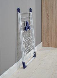 Leifheit Séchoir-papillon Classic 200 Flex blanc/bleu-Image 2