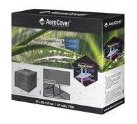 AeroCover Housse de protection pour coussins carrée polyester L 80 x Lg 80 x H 60 cm-Côté droit
