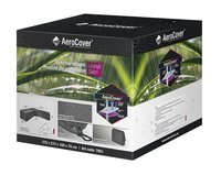 AeroCover Beschermhoes voor loungeset Trapeze L-vorm polyester L 270 x B 100 x H 70 cm-Rechterzijde