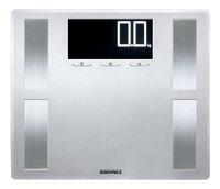Soehnle Personenweegschaal/vetmeter Shape Sense Profi 200 grijs/inox