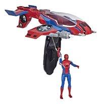 Spider-Man Far From Home Spider-Jet met Spider-Man-Artikeldetail