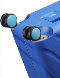 American Tourister Harde trolley Lock'N'Roll Spinner skydiver blue 69-Onderkant