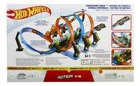 Hot Wheels acrobatische racebaan Corkscrew Crash-Achteraanzicht
