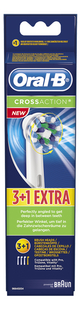 Oral-B 3+1 vervangborsteltjes CrossAction
